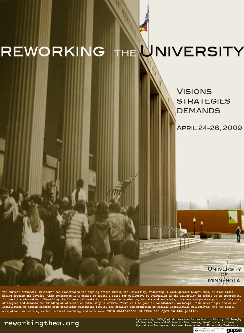 Reworking the University